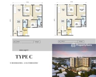 For Sale - Platinum Residency, Kelantan (Type C)