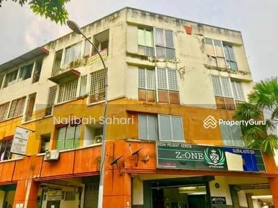 For Sale - Shop-Apartment at Jalan Megan Setapak 1, Taman Sri Rampai, Setapak, Kuala Lumpur