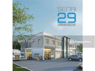 For Sale - Senai 29 @ Senai Industrial Park Semi-D Corporate Factories
