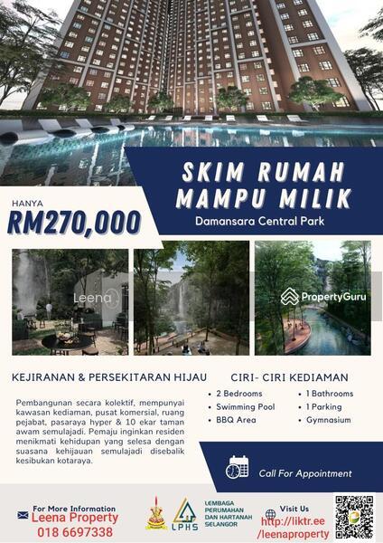 Apartment Untuk di Jual di Damansara #164963981