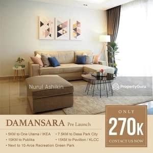 For Sale - Service Apartment @ Central Park Damansara