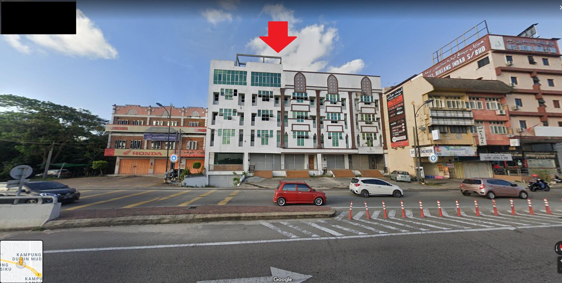 For Sale - 1/7/2021 BANK LELONG Kedai 4-Tingkat di Jalan Sultan Yahya Petra, Wakaf Siku, Kota Bharu, Kelantan