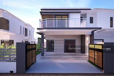 For Sale - [ Hilltop Gated Guarded Semi D Save 200K ] 40x85 Freehold Double Storey Rasah Kemayan, S2, Seremban