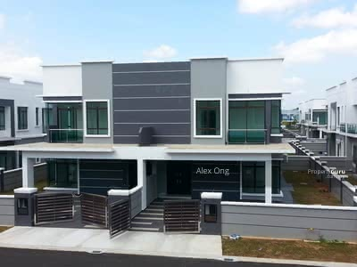 For Sale - Now MCO Discount Many Frist Owner Free HD TV Freehold Double Storey Individual Title Kepong, Puchong