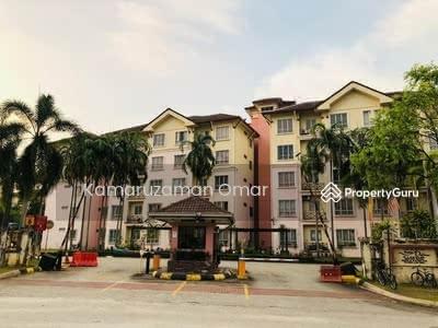 For Sale - 1ST FLOOR Seroja Apartment, Bukit Jelutong, Shah Alam