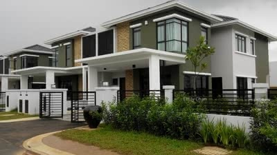 For Sale - [Luxury Dream Home] Freehold Double Storey 22x85 Near Shah Alam 0% Downpayment ! !! Under HOC ! !!