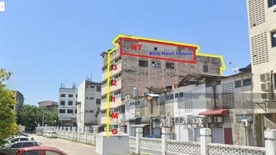 For Sale - 5 Storey Shop Lot Mid Town Kuala Terengganu With Bird Nest House