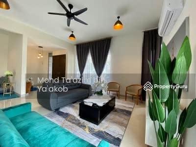 For Sale - ( CORNER BIG LAND ! ) + ( FULLY FURNISHED ) at Alam Impian, Shah Alam