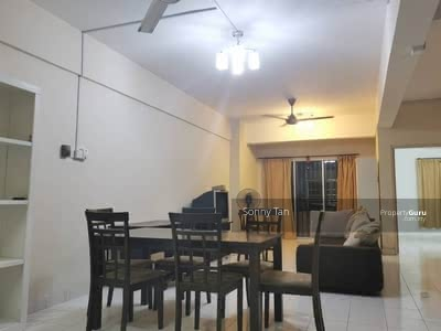 For Rent - 3 bedroom partly condo near kepong, jinjang, MRT kepong baru, Aeon Kepong