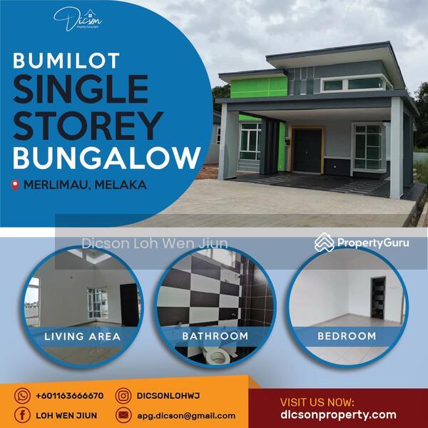 Single Storey Bungalow at Merlimau #165358817