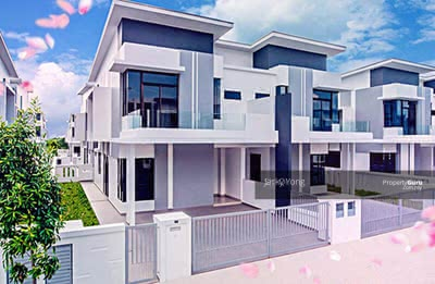 For Sale - 【Semi-D Concept】Freehold Double Storey 3750sqft Only RM445K Bukit Jalil! !!