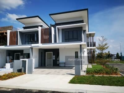 For Sale - New Launch Freehold Individual Title 2 Storey Hilltop Link House Under HOC