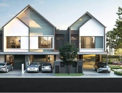For Sale - New Project Landed 2 Storey Premium Lakeside House in Seksyen 7 Shah Alam