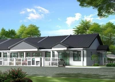 For Sale - NEW FREEHOLD 0 DOWNPAYMENT 18-20x102 TANAH BESAR Teres YURAN FREE Banting