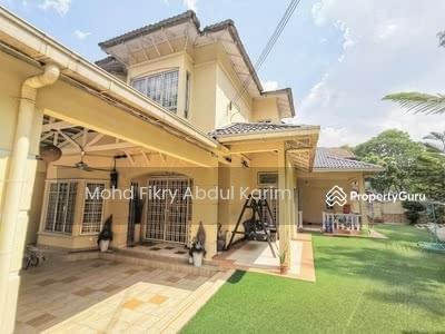 For Sale - DOUBLE STOREY CORNER LINK HOUSE ALAM DAMAI, CHERAS, KUALA LUMPUR [RENOVATED & EXTENDED]
