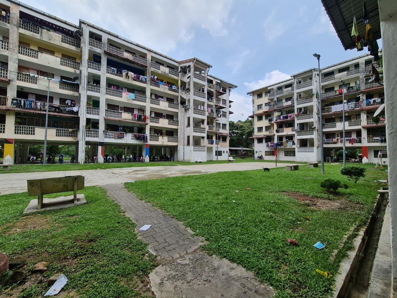 For Sale - Pangsapuri Melati For Sale With Ready Tenant