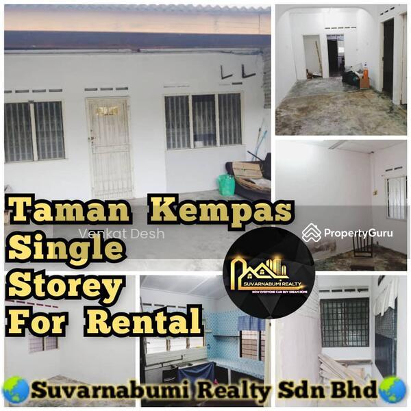 TAMAN KEMPAS SINGLE STOREY JOHOR BAHRU FOR RENTAL #166161225