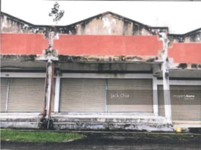 For Sale - 11/8/2021 Bank Auction Shop : Jalan Gambang Jaya 1, Taman Rakyat Gambang, Kuantan, Pahang