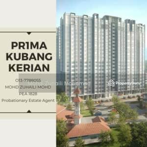 For Sale - Apartment Kubang Kerian - Near Hospital Universiti Sains Malaysia