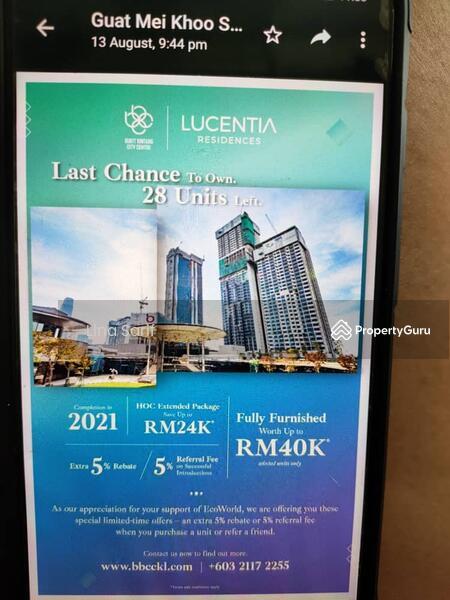 Lucentia Residence @ Bukit Bintang City Centre KL #167081997