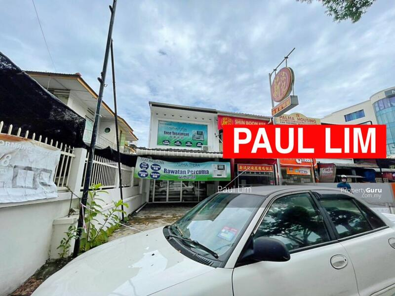 SHOP LOT SALE 2 STOREY AT JALAN BURMA FACING BUSY ROAD PREMIER LOCATION #167244685