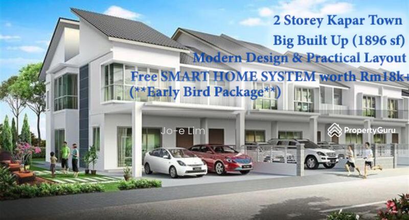NEW (LOW BOOKING) 2 Storey House (1896sf) Kapar Town Klang #169108889