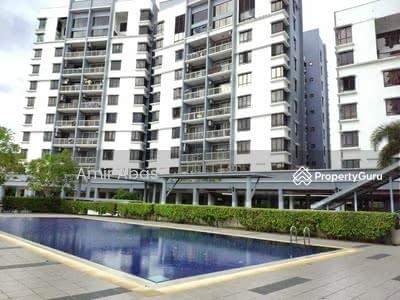 For Sale - FACING SWIMING POOL Condominium Villa Laman Tasik Bandar Sri Permaisuri Cheras