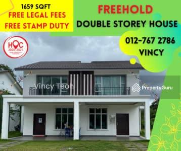 For Sale - Melaka New 2 Storey House Zero Downpayment