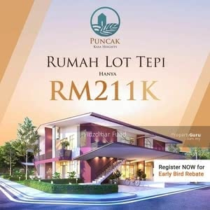 For Sale - D'Quattro Modern Cluster Townhouse, Alor Gajah, Melaka