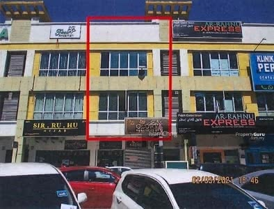 For Sale - 25/9 BANK AUCTION :   30A, Tingkat 1 & 2, Jalan Putra Square 1, Malay Town, Putra Square, Kuantan