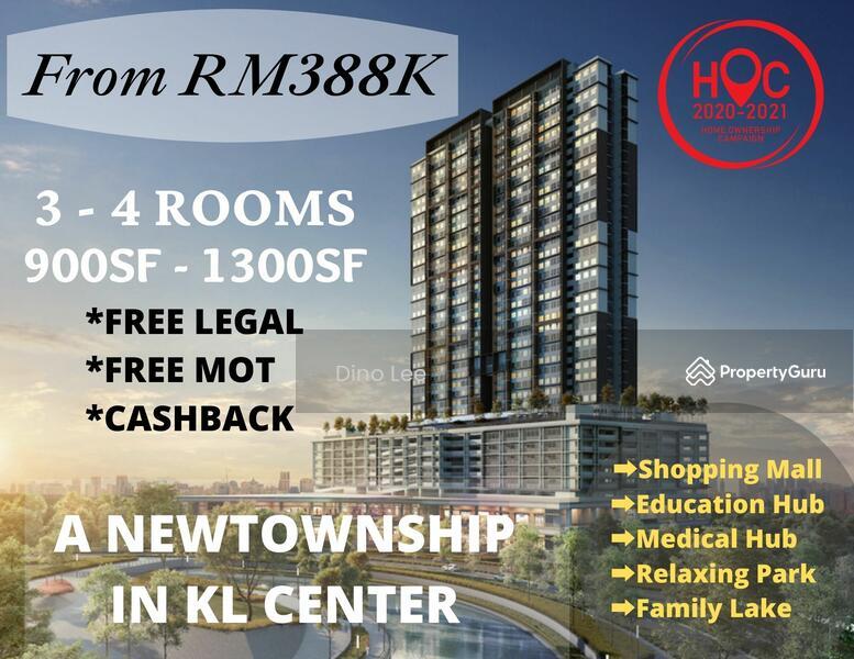 setapak, new township, 0% down payment, 5min to duke, 13min to klcc, cashback rm13k #168746205