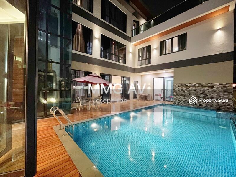 High-class Bungalow- Contemporary Style Interior Design #168782377