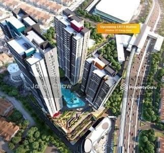 Dijual - [BBT LRT3] HOC new 3+1bedrooms condo