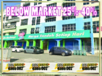 For Sale - BELOW MARKET 150K GROUND FLOOR SHOP WISMA SEMANTAN TEMERLOH PAHANG