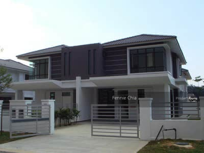 For Sale - [100% Laon] 2 Storey House 20x75 Green Environment Cheras