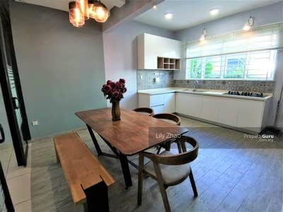 For Rent - Beautiful 3 Storey Terraced House | Renovated | Partially Furnished | Behind ITCC Mall, Penampang