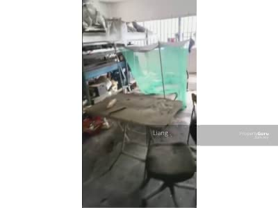 For Sale - Jalan Berjaya x, Kempas Berjaya 1. 5 storey End lot factory for sales