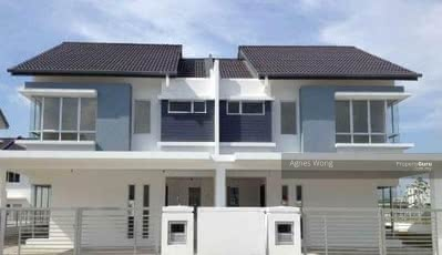 For Sale - [Below Market Value 50%] Gated 22x75 Freehold Double Storey Nr Setapak, Kepong Full Loan