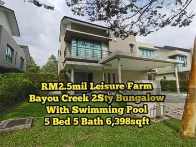 Dijual - Bayou Creek @ Leisure Farm