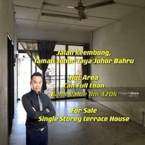 For Sale - Jalan keembong, Taman Johor Jaya, Johor Bahru