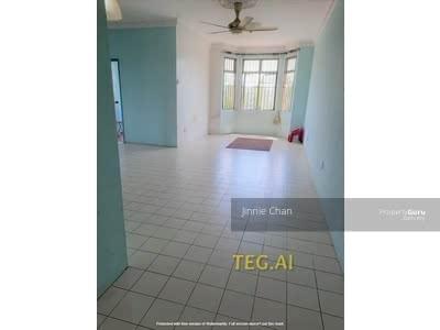 For Sale - [850 SF] Cheap Selling 100% Full Loan Pangsapuri Rimau Indah Apartment Nr Kota Kemuning [Limited]