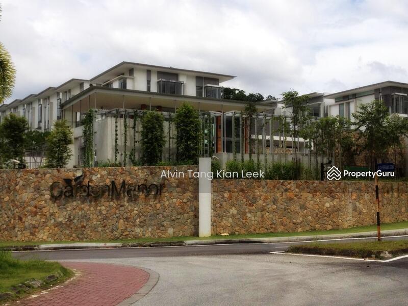 Brand new 3 storey terrace house garden manor sierramas for 3 storey terrace house