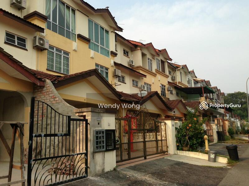 Taman d 39 utama 3 storey terrace for sale jalan d 39 utama for 3 storey terrace house for sale