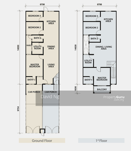 Floor Size  Sqft  Beds  Baths
