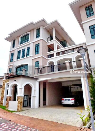 4 Storey House Design: 4 Storey Bungalow House, Moonlight Bay, Batu Ferringhi