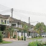 Double-storey at Tabuan Heights
