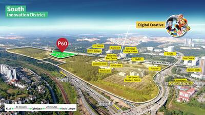 For Sale - Cyberjaya New Masterplan